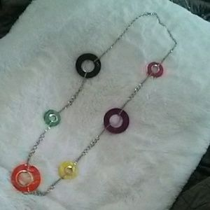 Jewelry - Multi colored ling necklace